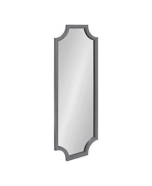 Framed Scallop Full Length Wall Mirror