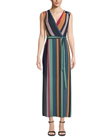 ECI Sleeveless Striped Maxi Dress