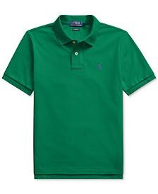 Polo Ralph Lauren Big Boys Basic Mesh Knit Polo Shirt