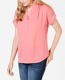 Split-Neck Top, Created for Macy's