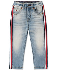 Baby Boys Side-Stripe Jeans
