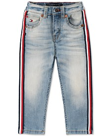 Tommy Hilfiger Baby Boys Side-Stripe Jeans