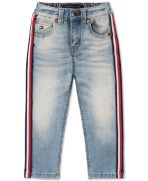 Tommy Hilfiger Baby Boys Side-Stripe Jeans