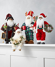 Holiday Lane African American Santas Collection, Created for Macy's
