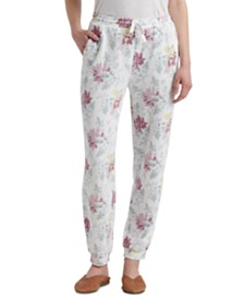 Lucky Brand Floral Printed Joggers