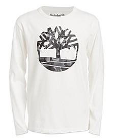 Big Boys Antrim Camo Logo T-Shirt