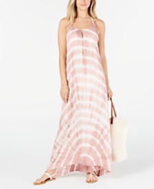 Raviya Tie-Dyed Maxi Cover-Up Dress