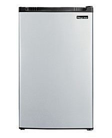 4.4 Cubic Feet Refrigerator with Full-Width Freezer Compartment with Door