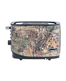 2-Slice Toaster with Authentic Real Tree Extra Camouflage Pattern