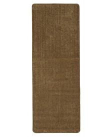 "Softy Collection Solid Non-Slip Kitchen/Bath Rug, 26"" x 96"""