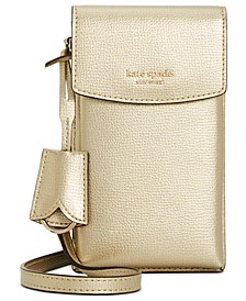 Sylvia North South Flap Leather Crossbody