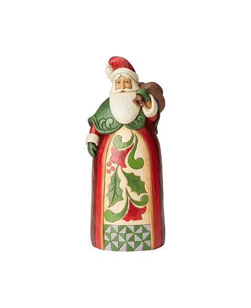 Enesco Jim Shore Santa w/ Toy Bag Statue