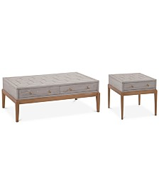 Camile Table Furniture, 2-Pc. Set (Cocktail Table & End Table)