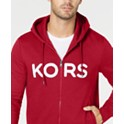 Michael Kors Men's Logo Fleece Full-Zip Hoodie (various colors/sizes)