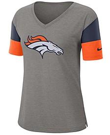 Women's Denver Broncos Tri-Fan T-Shirt