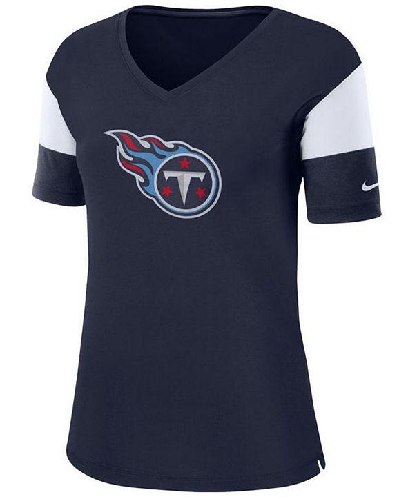 Nike Women's Tennessee Titans Tri-Fan T-Shirt