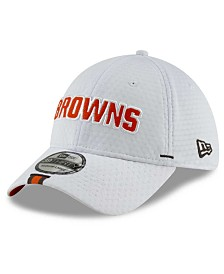 New Era Little Boys Cleveland Browns 2019 Training 39THIRTY Stretch Fitted Cap
