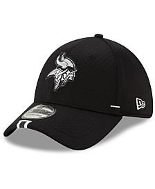 New Era Minnesota Vikings Training Black 39THIRTY Cap