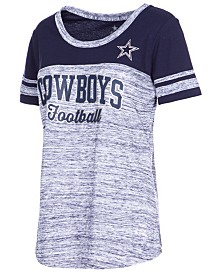 Authentic NFL Apparel Women's Dallas Cowboys Space Dye T-Shirt