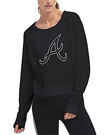 Women's Atlanta Braves Mesh Pullover