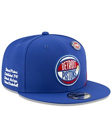 New Era Detroit Pistons On-Court Collection 9FIFTY Cap