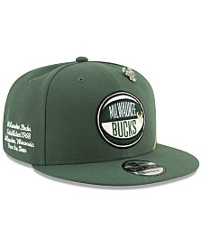 New Era Milwaukee Bucks On-Court Collection 9FIFTY Cap