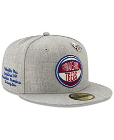 Philadelphia 76ers 2019 On-Court Collection 59FIFTY Fitted Cap