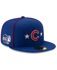 New Era Little Boys Chicago Cubs 2019 All Star Game Patch 59FIFTY Fitted Cap