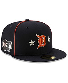 New Era Little Boys Detroit Tigers 2019 All Star Game Patch 59FIFTY Fitted Cap