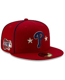 New Era Little Boys Philadelphia Phillies 2019 All Star Game Patch 59FIFTY Fitted Cap