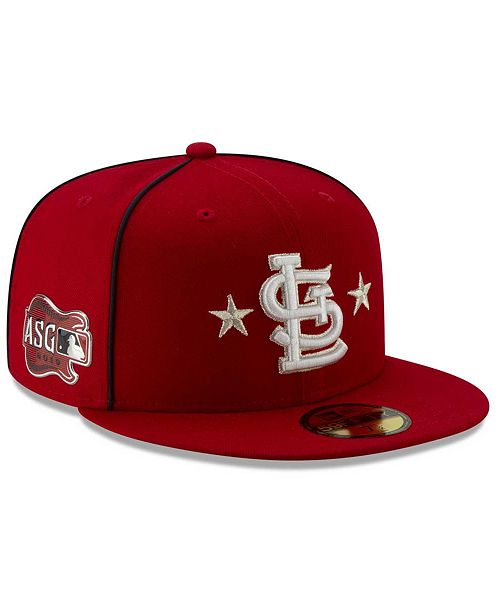 New Era Little Boys St. Louis Cardinals 2019 All Star Game Patch 59FIFTY Fitted Cap