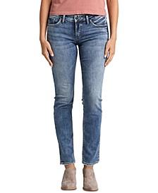 Suki Straight-Leg Jeans