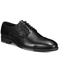 Reign Water Resistant Cap-Toe Lace-Up Oxfords, Created for Macy's