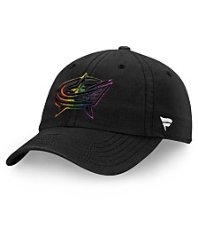 Authentic NHL Headwear Columbus Blue Jackets Pride Fundamental Strapback Cap