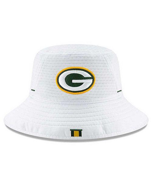 New Era Little Boys Green Bay Packers 2019 Training Bucket Hat