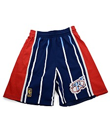 Mitchell & Ness Big Boys Houston Rockets Swingman Shorts