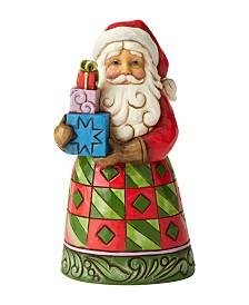 Jim Shore Pint Santa with Gifts