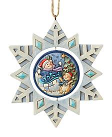 Jim Shore Promo Snowman Ornament