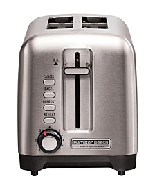 Stainless Steel Professional 2 Slice Toaster