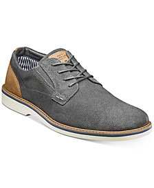 Nunn Bush Men's Barklay Plain-Toe Lace-Up Oxfords