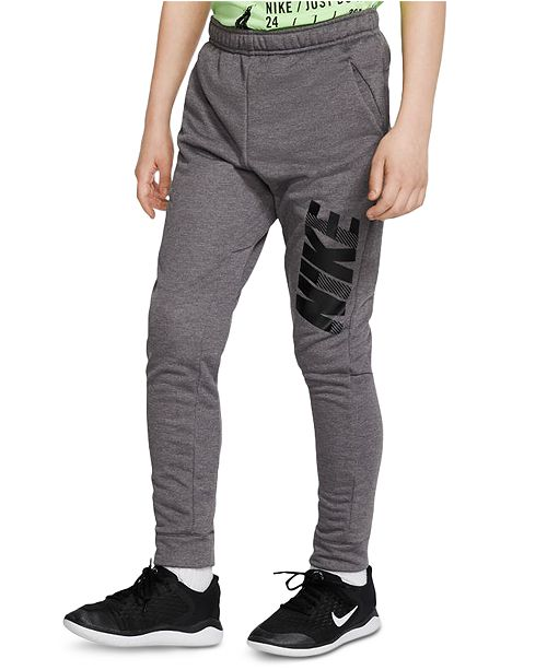 Nike Big Boys Tapered Graphic Training Pants