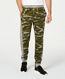 ID Ideology Men's Colorblocked Camo Joggers, Created for Macy's