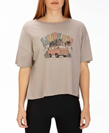 Hurley Juniors' Cotton Van Vibes Graphic T-Shirt
