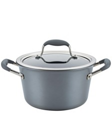 Anolon Advanced Home Hard-Anodized Nonstick 4.5-Qt. Tapered Saucepot