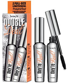 Benefit Cosmetics 2-Pc. Double Deal They're Real! Mascara Set