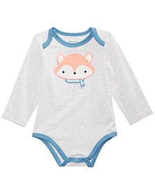 First Impressions Baby Boys Fox Bodysuit, Created for Macy's