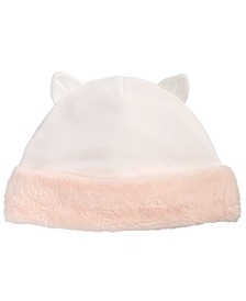 Baby Girls Cat Hat, Created for Macy's