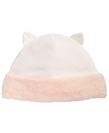 First Impressions Baby Girls Cat Hat, Created for Macy's