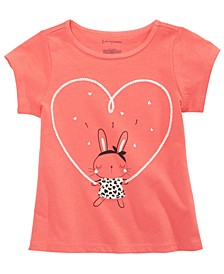 Toddler Girls Bunny-Print Cotton T-Shirt, Created for Macy's