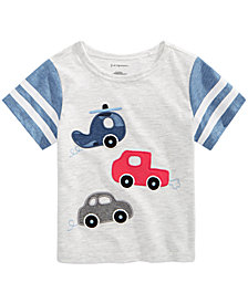 First Impressions Baby Boys Vehicle-Print T-Shirt, Created for Macy's